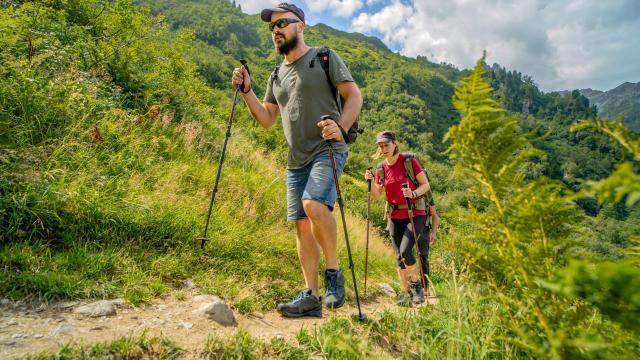 Randonnée en montagne aux 7 Laux