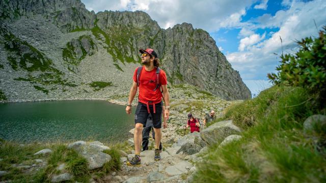 randonnée au lac des 7 Laux