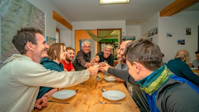 Repas au refuge des 7 Laux