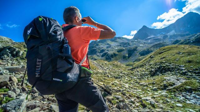 accompagnateur en montagne aux 7 Laux