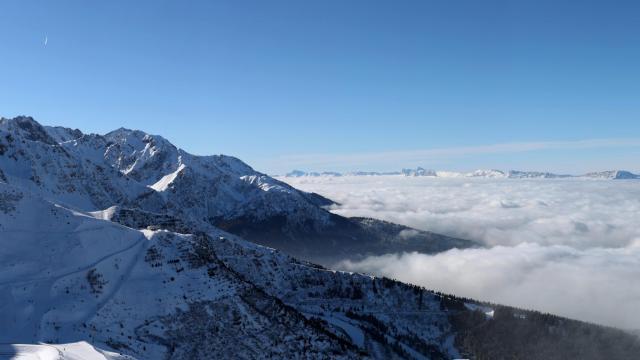 Panorama Les 7 Laux hiver