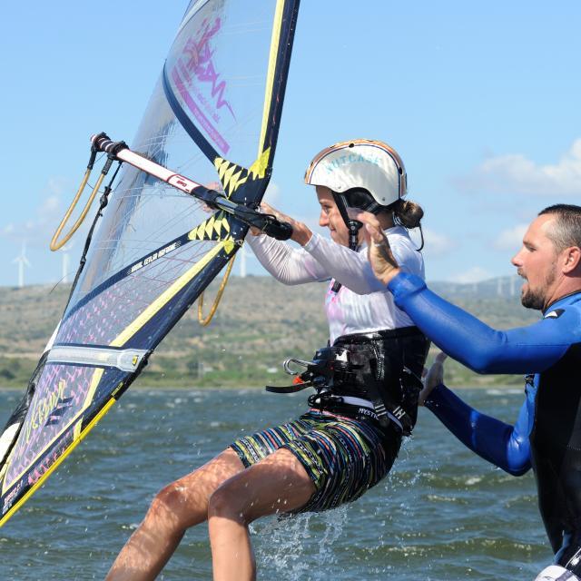 Cours Windsurf Wesh Spot Le Goulet Leucate