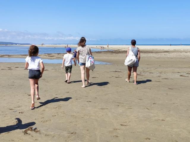 A la plage en famille - La Franqui