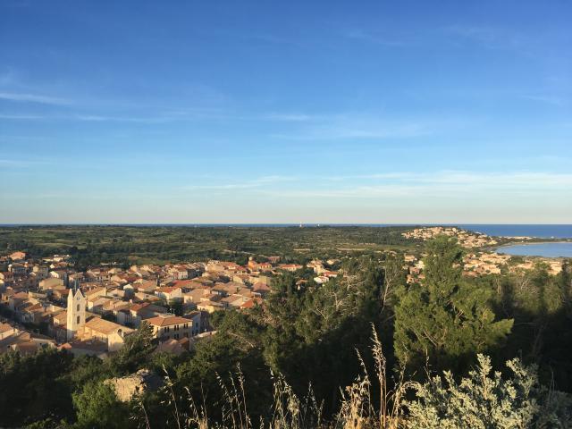 Leucate Village Depuis Le Chateau