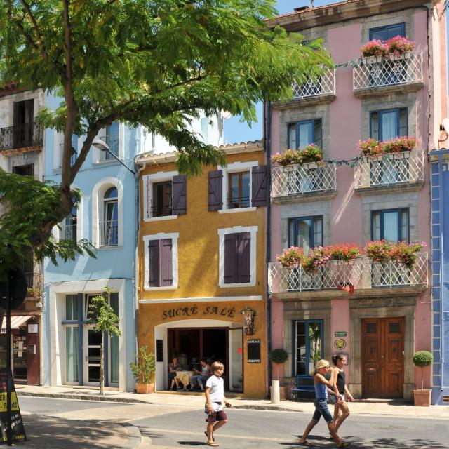 Leucate Village Facades