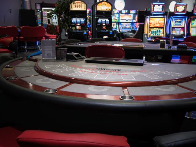 Table de Black Jack au Casino Circus Leucate