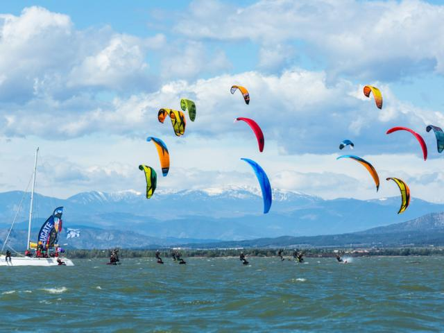 Kitefoil Leucate
