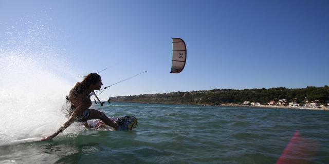 Kitesurf Leucate La Franqui