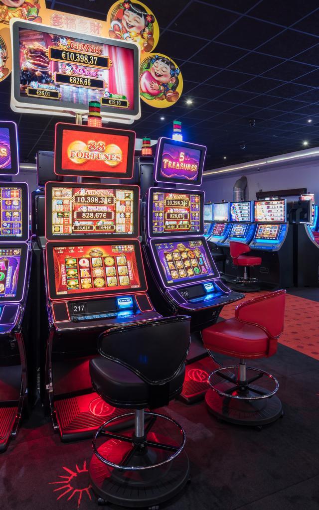 Machines A Sous du Casino Circus Leucate