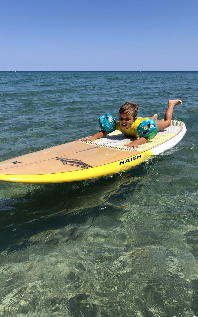 Stand Up Paddle Leucate Famille 2
