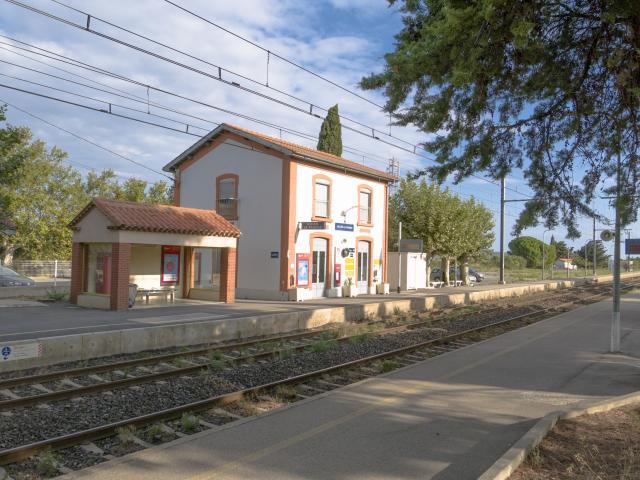 Gare De La Franqui
