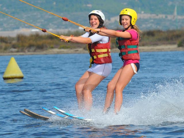Ski Nautique en duo