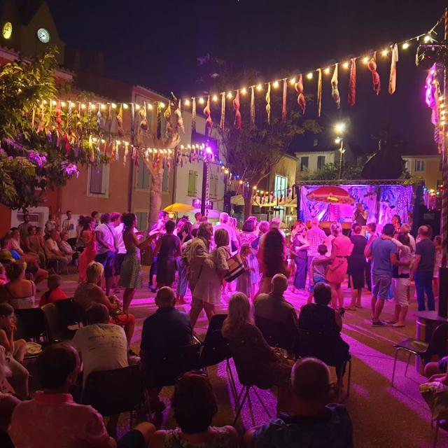 Fete Leucate Village, bal concert