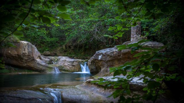 Fontaine des amours - Rennes-les-Bains
