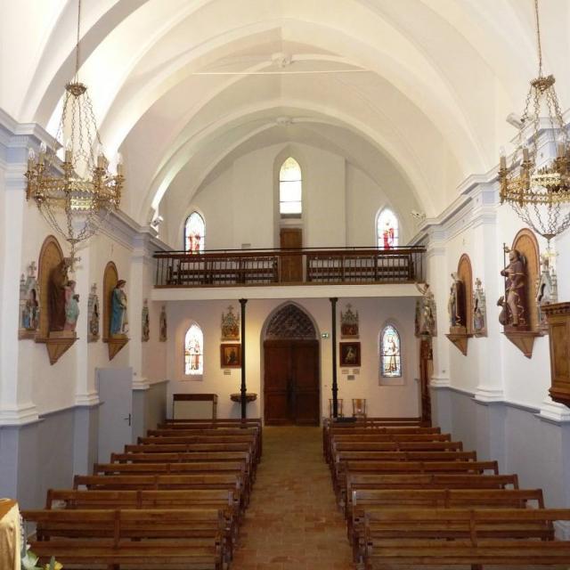 Tourreilles Eglise Saint Saturnin