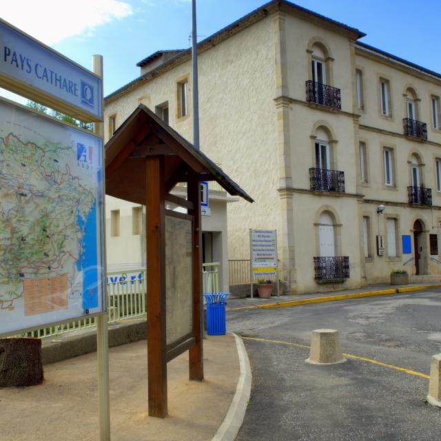 Entrée Piscine Village Rennes Les Bains