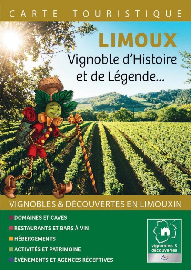 Carte vignobles et découvertes