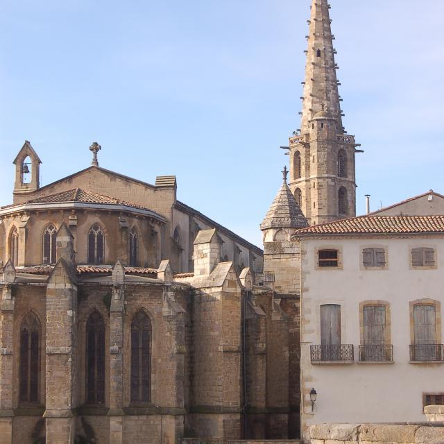 Eglise Saint Martin Limoux 1