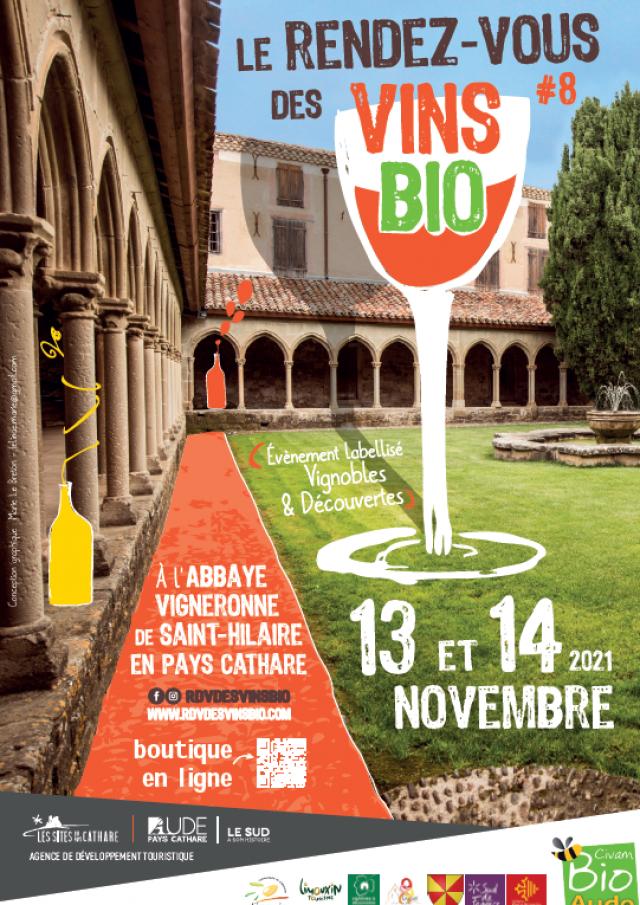 Image Affiche A3 Salon Des Vins Bio 2021
