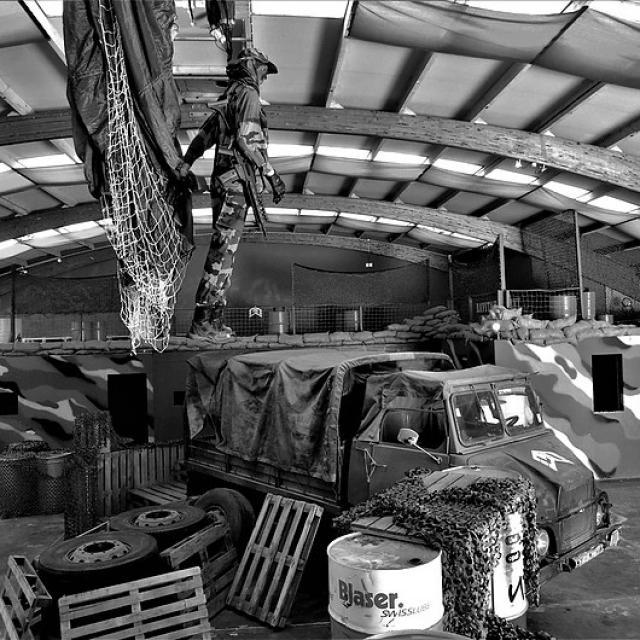 Laser Impact Lisieux Base militaire