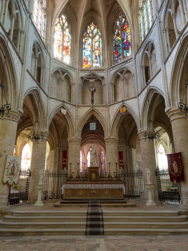 Abbaye Saint Pierre Sur Dives ©j. Boisard