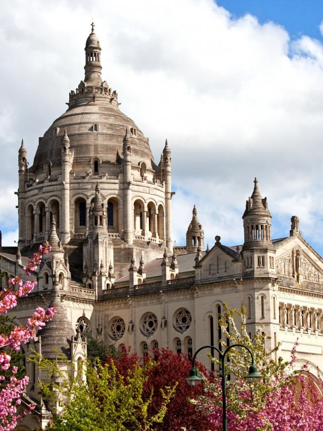 Basilica of St. Therese of Lisieux in Normandy France