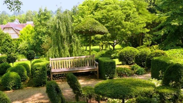 Jardins Pays D'auge Cambremer Banc
