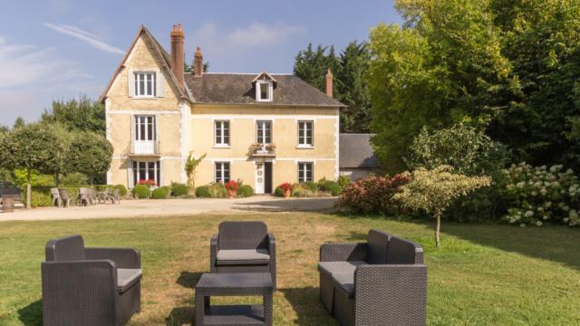La Villa Des Tilleuls Et Le Parc