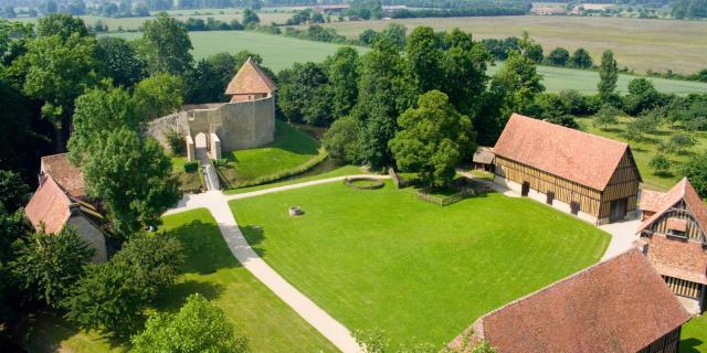 Château De Crèvecoeur Vue Aerienne