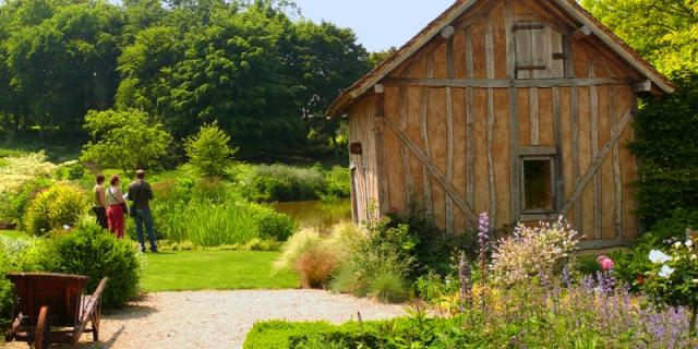 Jardins Pays D'auge Cambremer Colombages