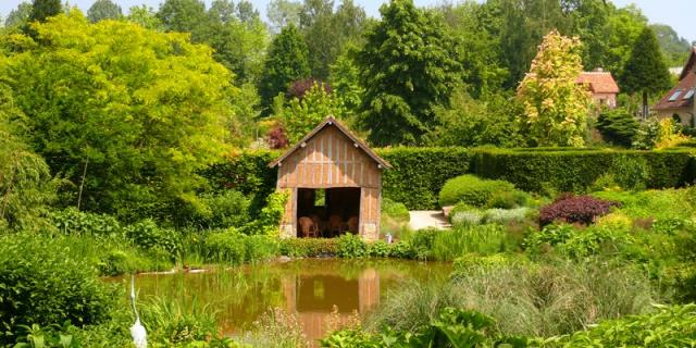 Jardins Pays D'auge Cambremer Mare