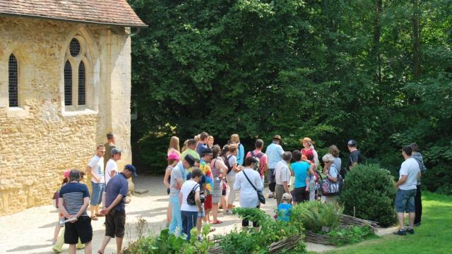 Visite Théâtralisée Groupe Chateau De Crèvecoeur