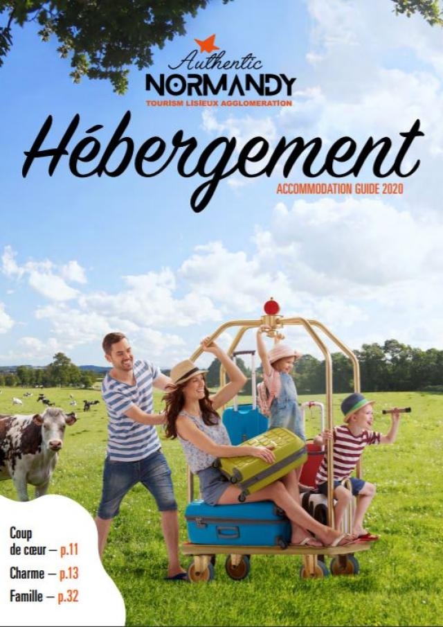 Brochure Herbergement Authentic Normandy