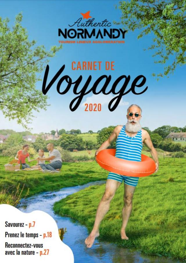 Carnet De Voyage Authentic Normandy 2020