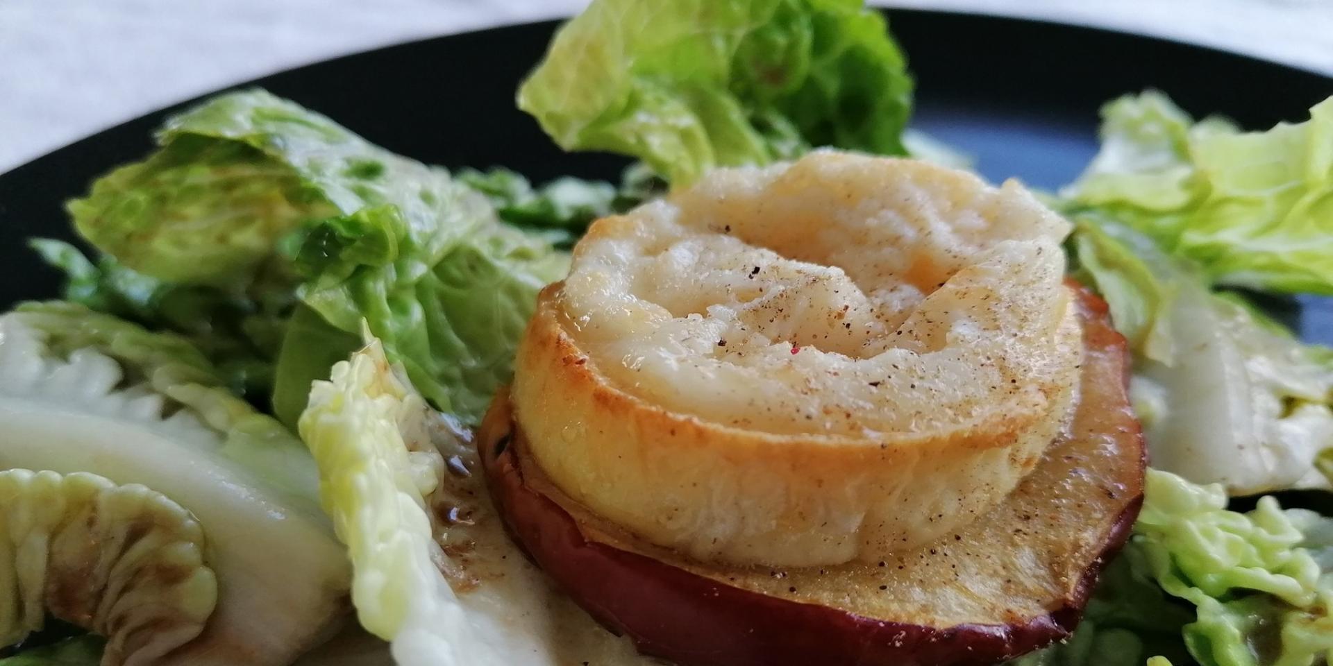 Chevre Chaud Sur Pomme à Deguster