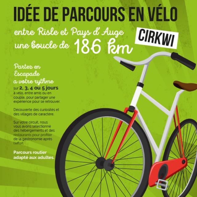 Parcours Cyclotourisme Entre Risle Et Pays D'auge Authentic Normandy
