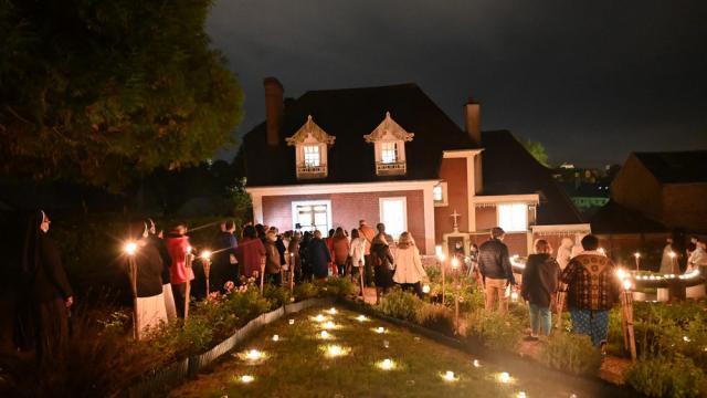 Buissonnets De Nuit Jardin©sanctuairedelisieux