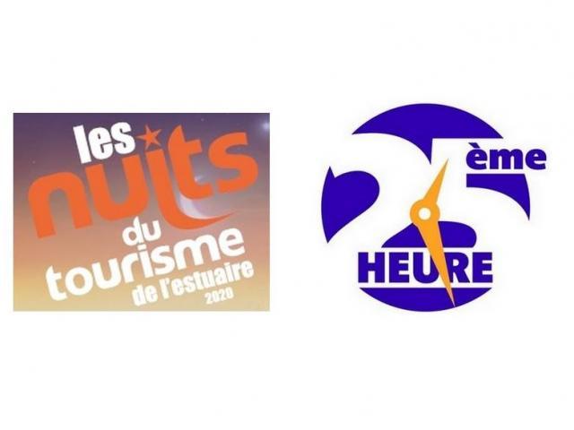 Logos Nuits Du Tourisme 25e Heure