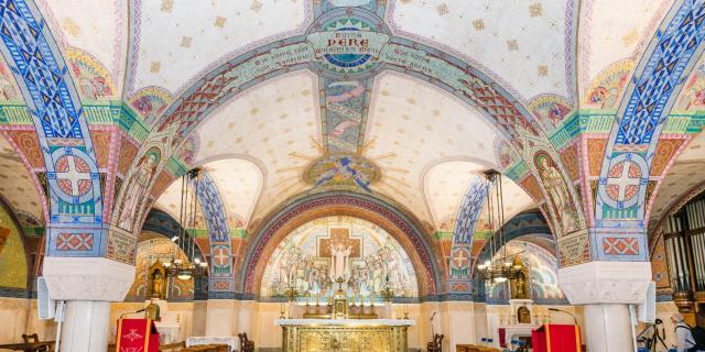 Crypte De La Basilique De Lisieux©sanctuaire De Lisieux