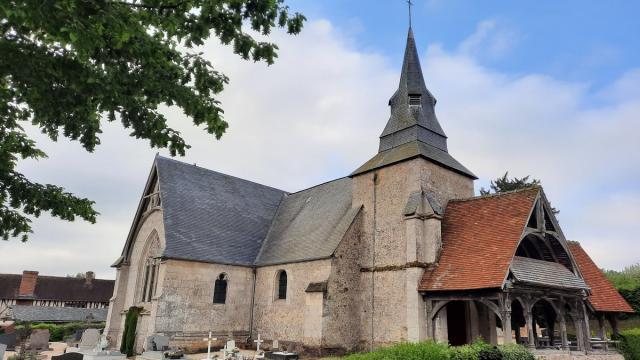 Eglise St Ouen à Rocques Où Thérèse Est Venue Prier
