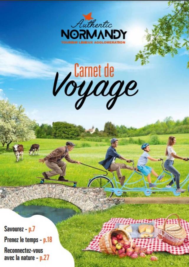 Visuel Carnet De Voyage Authentic Normandy 2021