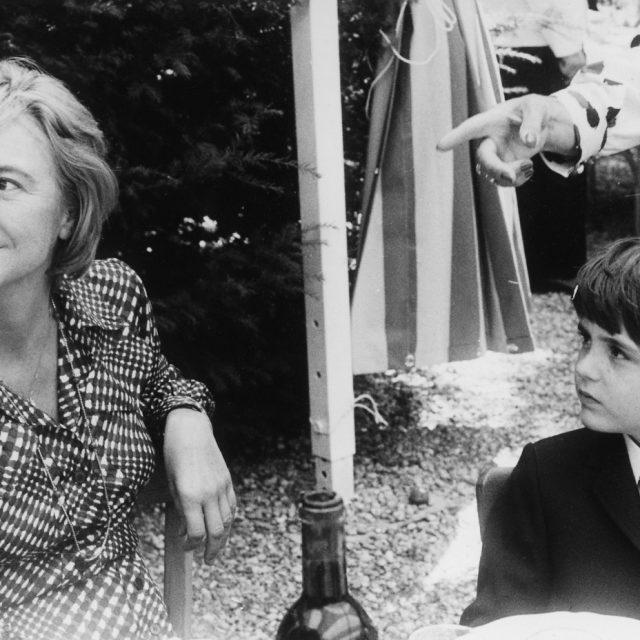 Francoise Sagan Et Son Fils 2