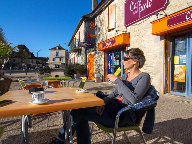 Café à Labastide-Murat