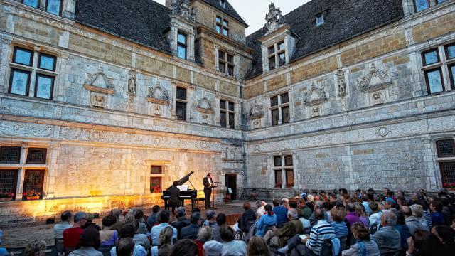 Concert au Château de Montal