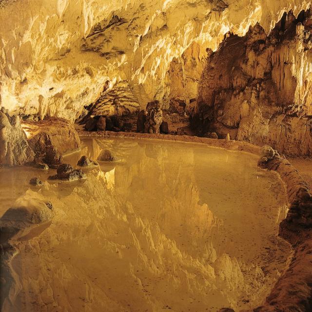 Reflet - Grotte des Merveilles