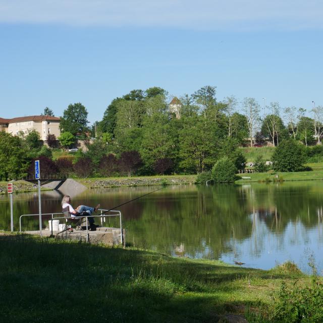 Plan d'eau de Lacapelle-Marival