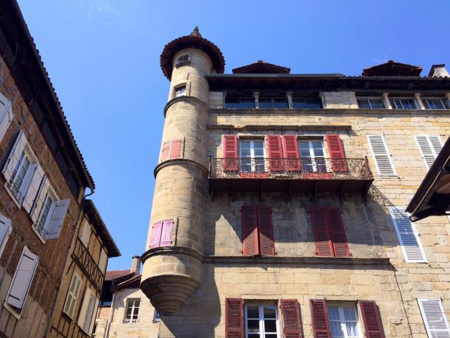 Place Carnot à Figeac