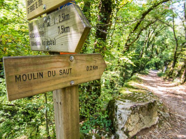 Circuit rando du Moulin du Saut