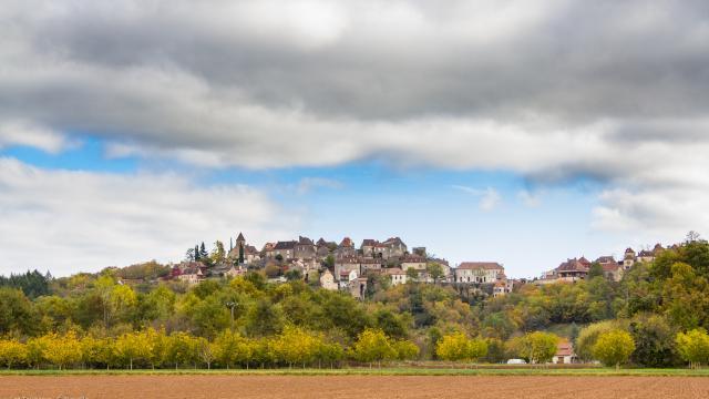Vue sur le Village de Calvignac