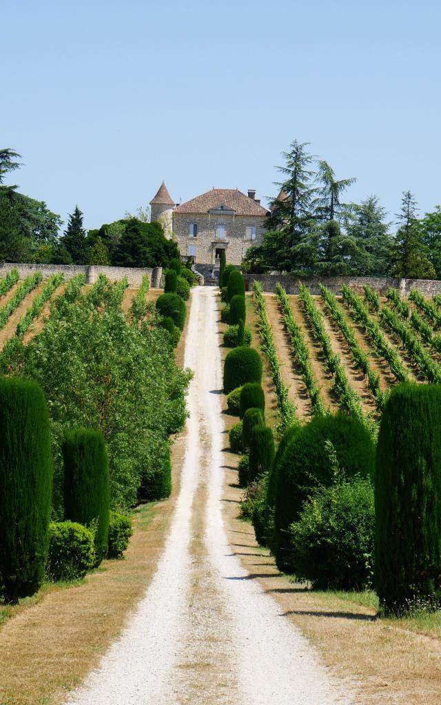 190705 Chateau De Chambert P1020104cc Seguy Lot Tourisme